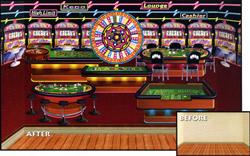 Casino Wanddeko