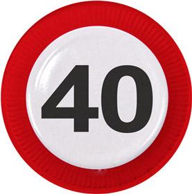 40 ist super party zum runden geburtstag fixe fete. Black Bedroom Furniture Sets. Home Design Ideas