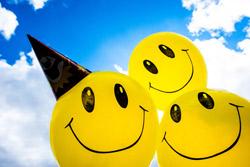 Kleinen Gästen ein Lächeln schenken – SMILEY Kindergeburtstag › fixe Fete - alles über Partys