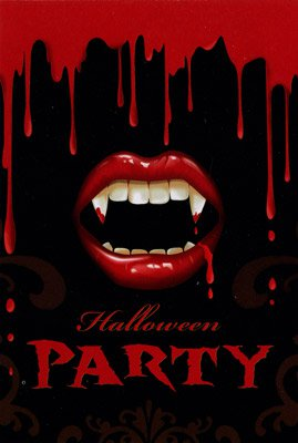 20 Einladungskarten   Halloween   Blut   Horror | Fixefete.de, Einladung