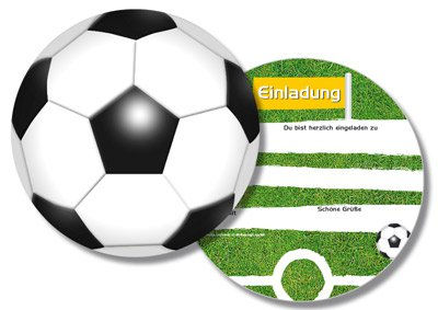 Einladungskarten - Fußball-Party | fixefete.de