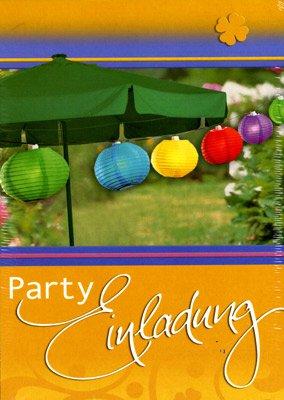 Einladungskarten   Gartenparty   Grillparty