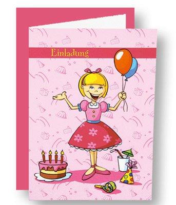 einladungskarten - kindergeburtstag - mädchen | fixefete.de, Kreative einladungen