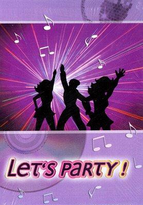 einladungskarten - let`s party | fixefete.de, Einladungsentwurf