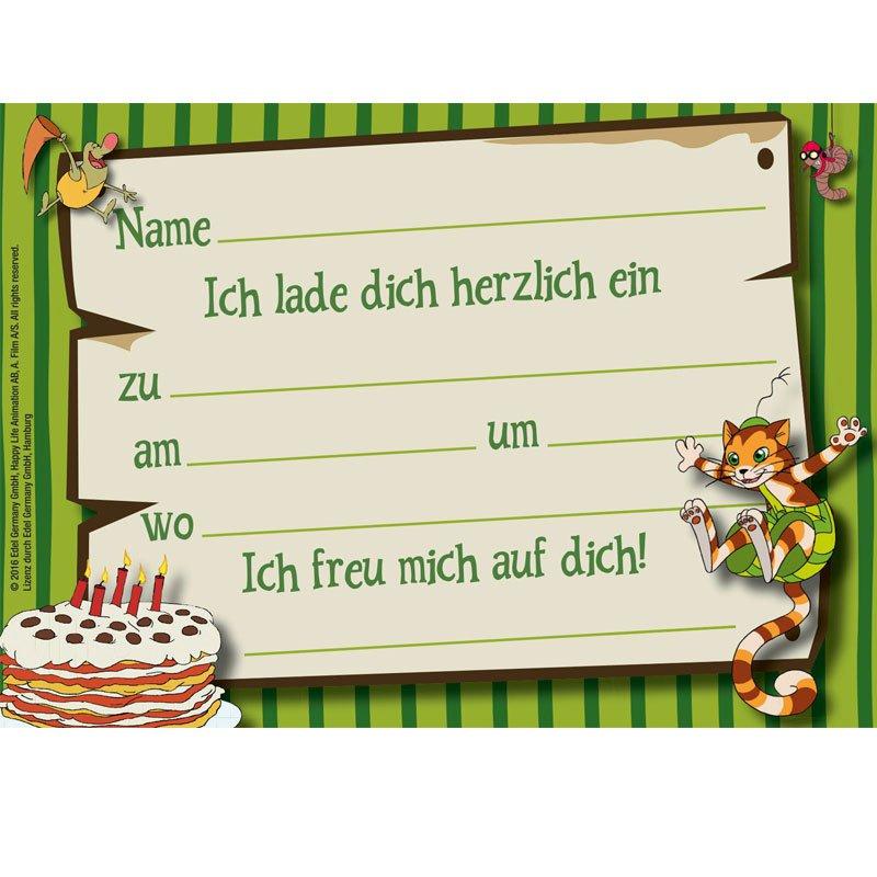 nice einladungskarten #1: Einladungskarten - Pettersson und Findus Einladungskarten - Pettersson und  Findus