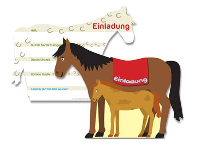 pferde-party | fixefete.de, Einladung