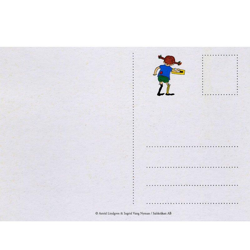 Einladungskarten - Pippi Langstrumpf - 12 Stück | fixefete.de