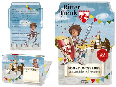 Einladungskarten   Ritter Trenk
