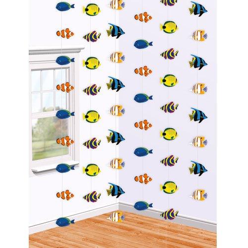 h nge deko korallenriff fische. Black Bedroom Furniture Sets. Home Design Ideas