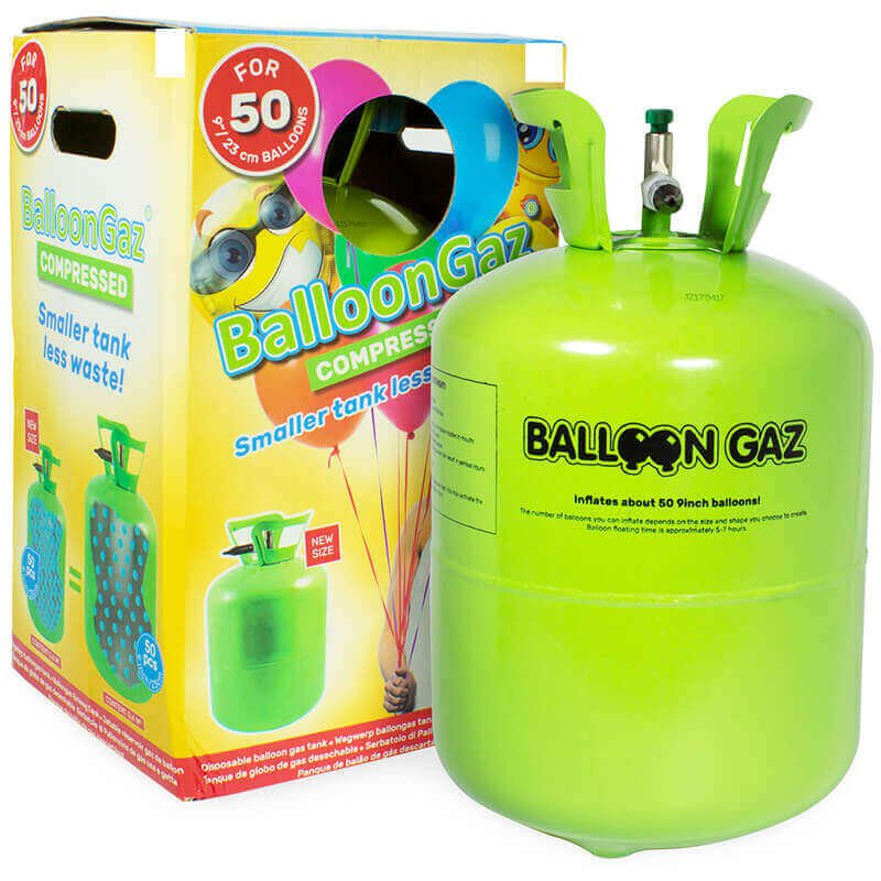 helium tank ballongas f r 30 party ballons. Black Bedroom Furniture Sets. Home Design Ideas