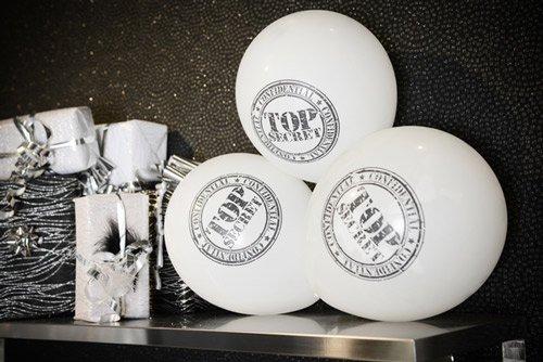 luftballons geheimagent top secret. Black Bedroom Furniture Sets. Home Design Ideas