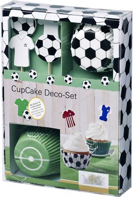 muffin deko set cup cake set fu ball. Black Bedroom Furniture Sets. Home Design Ideas