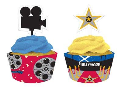 muffin deko set hollywood kino film. Black Bedroom Furniture Sets. Home Design Ideas