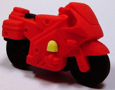 Radiergummi motorrad rot for Radiergummi selber machen