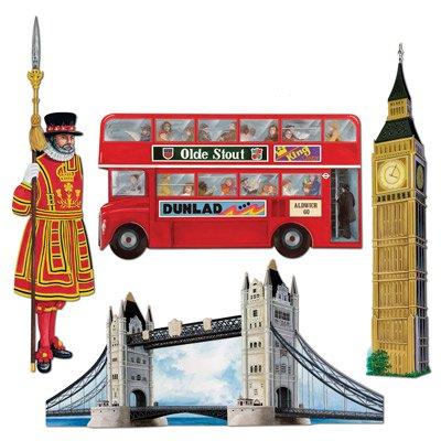 Riesen Deko Set England London