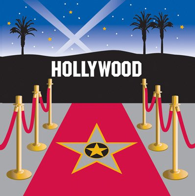 Roter teppich  Teller - Hollywood - roter Teppich | fixefete.de