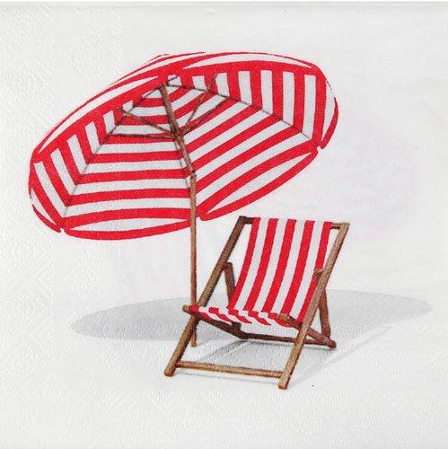 servietten liegestuhl strand. Black Bedroom Furniture Sets. Home Design Ideas