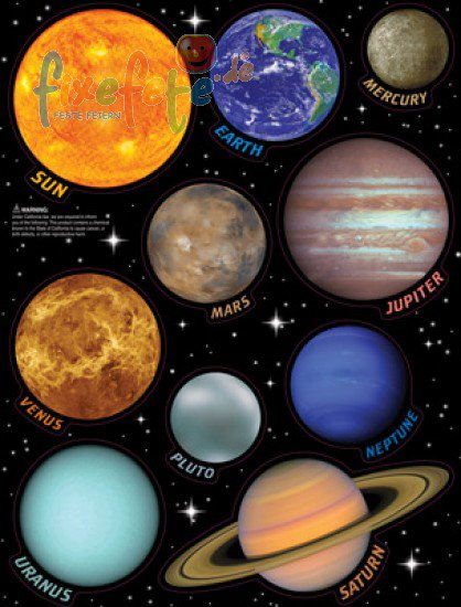 big names of planets - photo #28