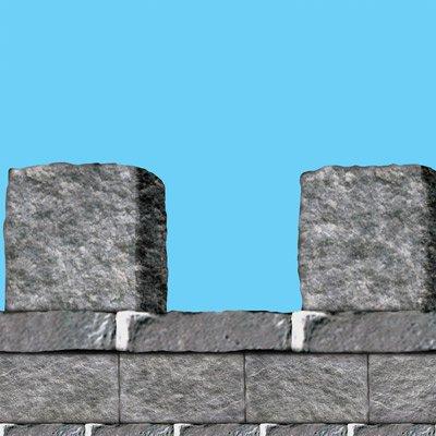 Steinwand mauerabschlu steintapete wanddeko - Wanddeko steinwand ...