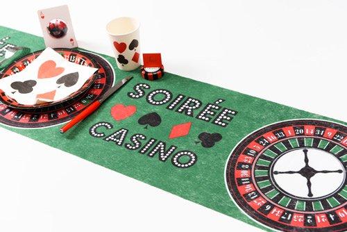 tischläufer casino