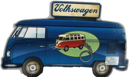 vw bulli bus t1 schl sselanh nger mit led blau. Black Bedroom Furniture Sets. Home Design Ideas