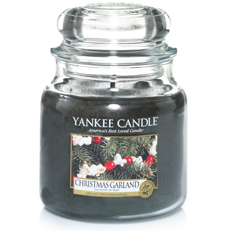 yankee candle christmas garland 411g kaufen. Black Bedroom Furniture Sets. Home Design Ideas