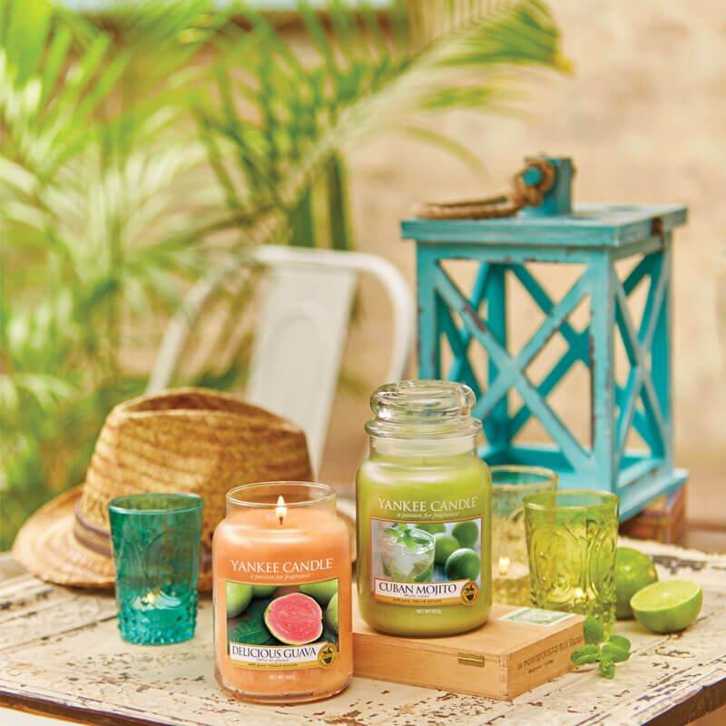 yankee candle duftkerze cuban mojito 623g online kaufen. Black Bedroom Furniture Sets. Home Design Ideas