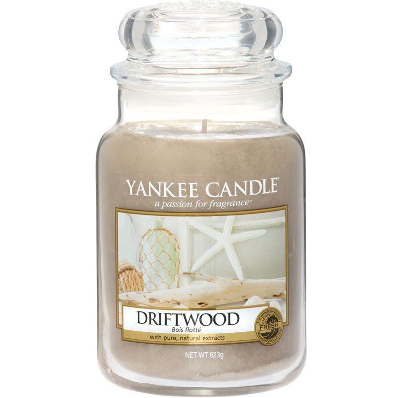 yankee candle driftwood 623g kaufen. Black Bedroom Furniture Sets. Home Design Ideas