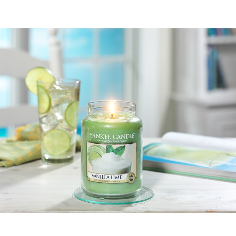 yankee candle duftkerze vanilla lime 623g. Black Bedroom Furniture Sets. Home Design Ideas