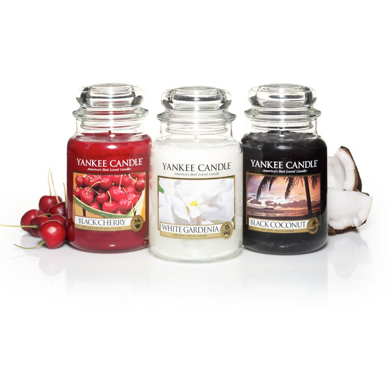 yankee candle duftkerze white gardenia 623g. Black Bedroom Furniture Sets. Home Design Ideas