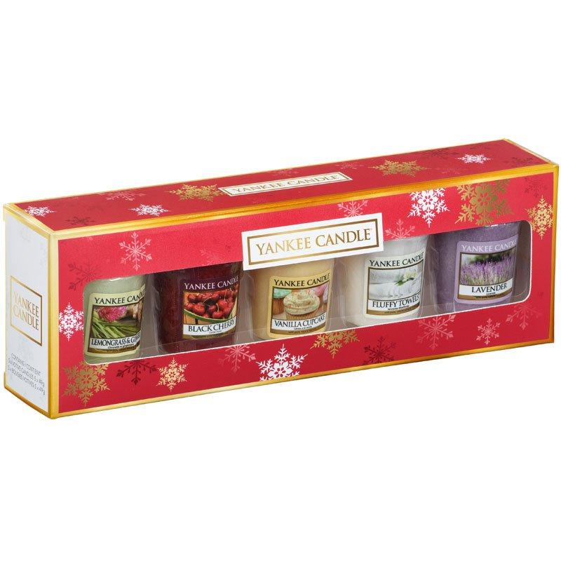 yankee candle geschenkset weihnachten kaufen. Black Bedroom Furniture Sets. Home Design Ideas