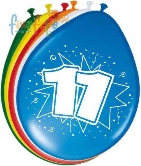 zahlenballons zum 11. geburtstag | fixefete.de, Einladung