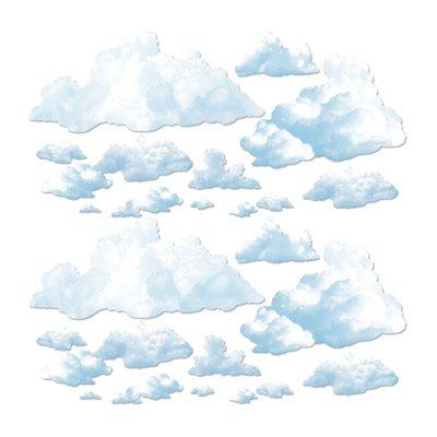 fluffige wolken wand deko elemente. Black Bedroom Furniture Sets. Home Design Ideas