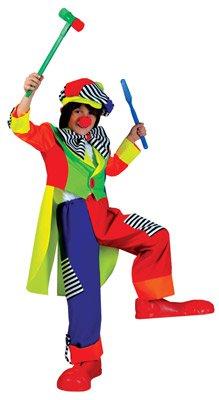 kunterbuntes clown kost m clown olaf. Black Bedroom Furniture Sets. Home Design Ideas