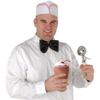 50er Jahre Soda Jerk Hut - 4er Pack