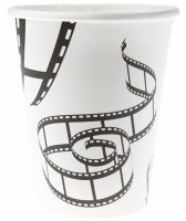 Becher - Film-Party - Filmrolle