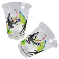 Becher - Fu�ball - 10 St�ck