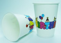 Becher - Happy Birthday - 266 ml