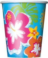 Becher - Hawaii-Beach-Party - Hibiskus