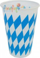 Becher - Oktoberfest - Raute - 200 ml