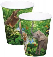 Becher - Safari-Party
