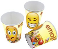 Becher - emoji-Party