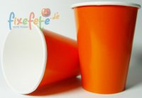 Becher - orange