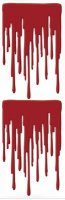 Blut - Gel-Sticker