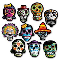 Day of the dead - Mini-Deko - 10teilige Tischdeko