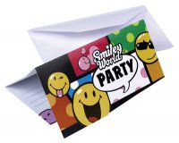 Einladungskarten - Smiley World - Party