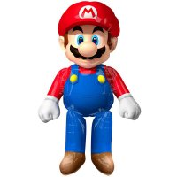 Folienballon - Airwalker - Super Mario - 152 cm
