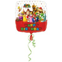 Folienballon - Super Mario - Happy Birthday