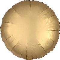 Folienballon rund Satin-Luxus -...