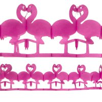 Girlande Flamingo pink